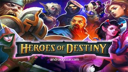 HEROES OF DESTINY 2.0.3 دانلود بازی قهرمانان سرنوشت+دیتا+مود