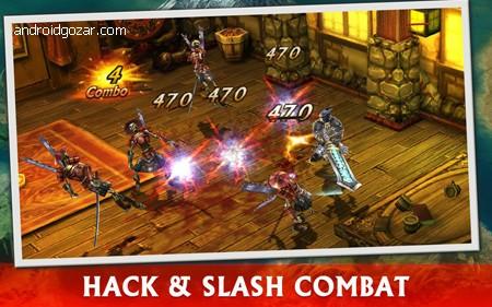 ETERNITY WARRIORS 3 4.1.0 دانلود بازی اکشن جنگجویان ابدی 3+دیتا+مود