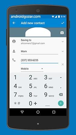 دانلود Google Contacts 3.44.2.369776217 برنامه مدیریت مخاطبین تلفن اندروید