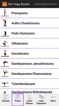 Hot Yoga Doctor – Yoga Classes 1.11 دانلود نرم افزار کلاس های یوگا + دیتا