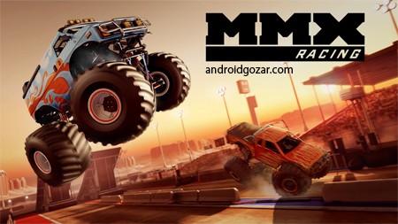 MMX Racing 1.16.9320 دانلود بازی مسابقه کامیون های هیولا+مود+دیتا