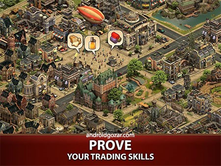 Forge of Empires 1.142.4 دانلود بازی استراتژیک توسعه امپراطوری اندروید