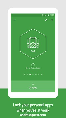 Hexlock Premium 2.0.134 نرم افزار قفل هوشمند برنامه های اندروید