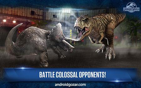 Jurassic World: The Game 1.35.10 دانلود بازی دنیای ژوراسیک اندروید