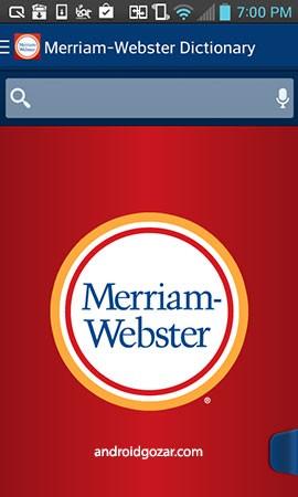 دانلود Dictionary – M-W Premium 5.0.7 بهترین دیکشنری و اصطلاحنامه امریکایی