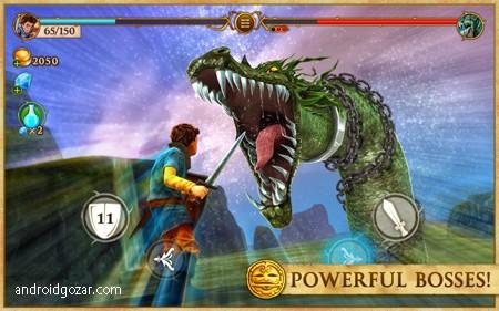 Beast Quest 1.2.1 دانلود بازی تلاش هیولا+مود