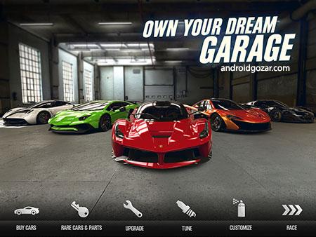 دانلود CSR Racing 2 2.17.4 بازی مسابقه برترین اتومبیل های جهان اندروید + مود