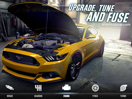 CSR Racing 2 1.21.1 دانلود بازی مسابقه برترین اتومبیل های جهان+مود+دیتا