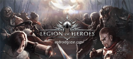 Legion of Heroes 1.9.38 دانلود بازی گروه قهرمانان اندروید