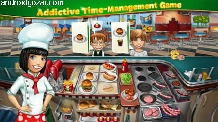 دانلود Cooking Fever 10.0.1 بازی هیجان آشپزی اندروید + مود