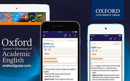 Oxford Learner's Academic Dict 1.0.19.0 Unlocked دانلود دیکشنری آکادمیک انگلیسی+دیتا