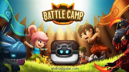 Battle Camp 4.2.1 دانلود بازی نقش آفرینی اردوگاه نبرد اندروید + مود