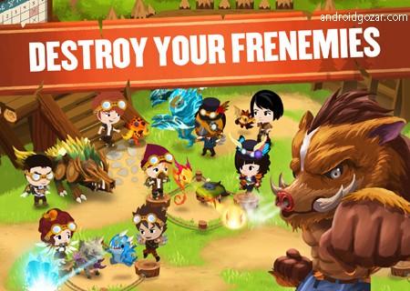 Battle Camp 5.2.0 دانلود بازی نقش آفرینی اردوگاه نبرد اندروید + مود