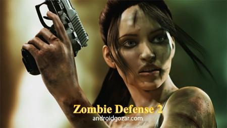 Zombie Defense 2: Episodes 2.00 دانلود بازی دفاع زامبی 2: اپیزود ها+دیتا+مود