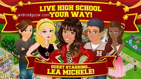 High School Story 5.1.0 دانلود بازی داستان دبیرستان اندروید + مود