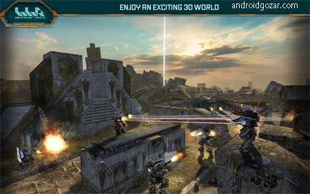 War Robots 4.4.0 دانلود بازی نبرد ربات ها اندروید + مود + دیتا