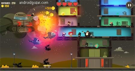 Aliens Drive Me Crazy 3.0.8 دانلود بازی راننده دیوانه اندروید + مود