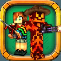 Block Force – Cops N Robbers 2.1.8 دانلود بازی تیراندازی پیکسلی سه بعدی+مود+دیتا