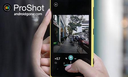 ProShot 5.0.8 دانلود نرم افزار دوربین پیشرفته و حرفه ای اندروید