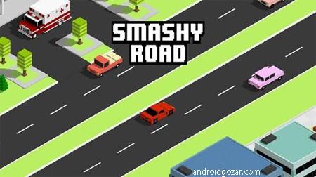 دانلود Smashy Road: Wanted 1.4.3 بازی ماشین سواری تحت تعقیب اندروید + مود