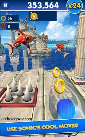 دانلود Sonic Dash 4.20.0 – بازی سونیک اندروید + مود