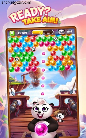 دانلود Panda Pop 8.9.101 بازی معمایی پاندا پاپ اندروید + مود