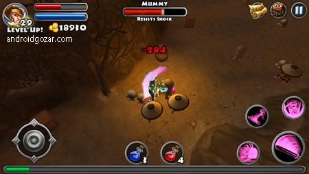 Dungeon Quest 3.0.5.3 دانلود بازی ماموریت زندان اندروید + مود