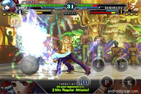 THE KING OF FIGHTERS-A 2012(F) 1.0.4 دانلود بازی پادشاه مبارزان + دیتا