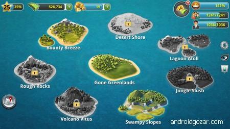 دانلود City Island 3 – Building Sim 3.2.4 بازی جزیره شهر 3 اندروید + مود