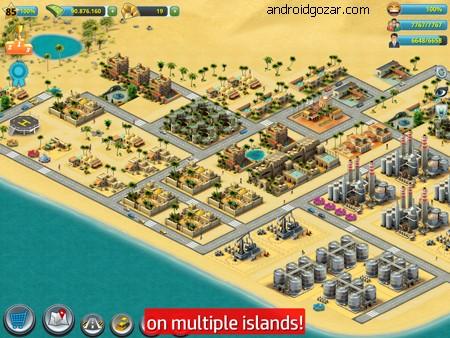 City Island 3 – Building Sim 2.4.0 دانلود بازی جزیره شهر 3 اندروید + مود