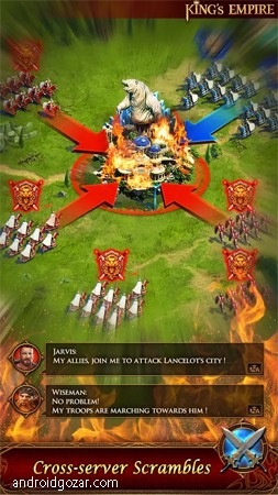 دانلود King's Empire 2.7.0 بازی امپراطوری پادشاه اندروید