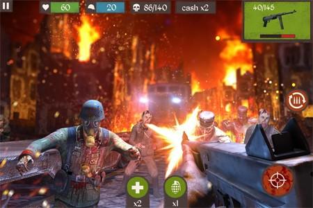 Zombie Call: Trigger Shooter 1.3 دانلود بازی فریاد زامبی: ماشه تیرانداز+مود