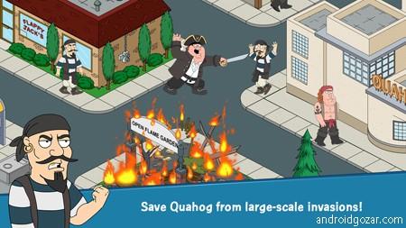 Family Guy The Quest for Stuff 1.11.5 دانلود بازی مرد خانواده+مود