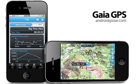 Gaia GPS: Topo Maps and Trails 6.7.0 نقشه های فضای باز اندروید