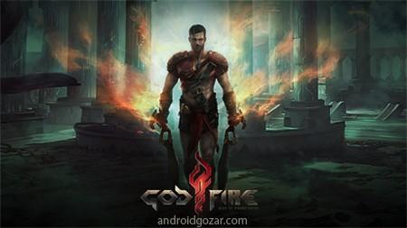 دانلود Godfire: Rise of Prometheus 1.1.3 بازی خدای آتش گاد فایر اندروید