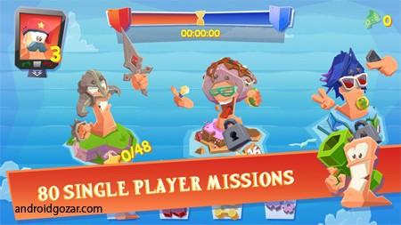 Worms 4 1.0.432182 دانلود بازی کرم ها+دیتا+مود