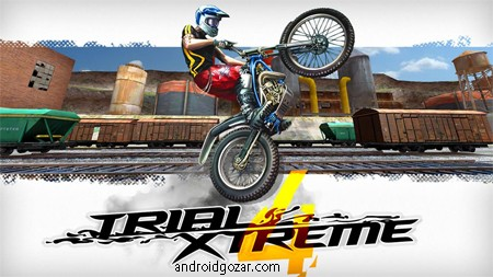 Trial Xtreme 4 2.0.1 دانلود بازی موتور سواری چند نفره اندروید + مود + دیتا