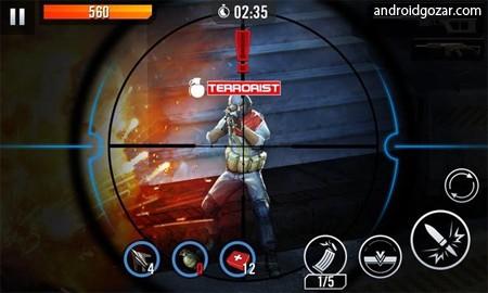 دانلود Elite Killer: SWAT 1.5.1 – بازی قاتل حرفه ای اندروید + مود