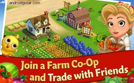 دانلود FarmVille 2: Country Escape 14.8.5331 بازی مزرعه داری اندروید + مود