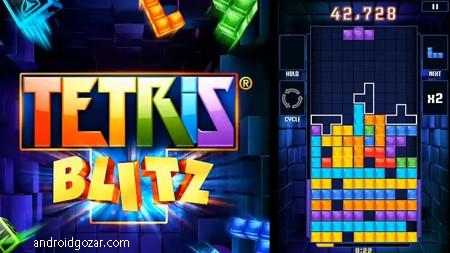 TETRIS Blitz 3.6.5 دانلود بازی خانه سازی پر هیجان اندروید + مود
