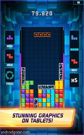 TETRIS Blitz 5.2.2 دانلود بازی خانه سازی پرهیجان اندروید + مود