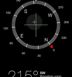 Compass + (iOS7) 1.0.8.donate دانلود نرم افزار قطب نما