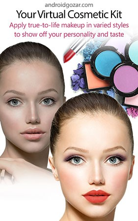 YouCam Makeup PRO 5.44.2 دانلود کیف لوازم آرایشی هوشمند اندروید