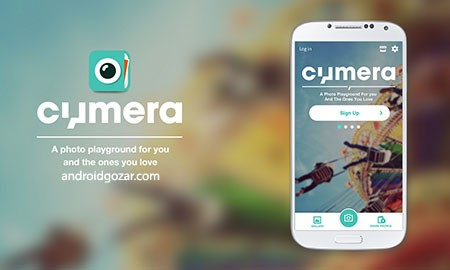 Cymera Camera Pro 3.4.6 دانلود نرم افزار ویرایش عکس اجتماعی