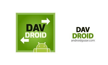 DAVdroid 1.6.2 همگام سازی مخاطبین و تقویم اندروید