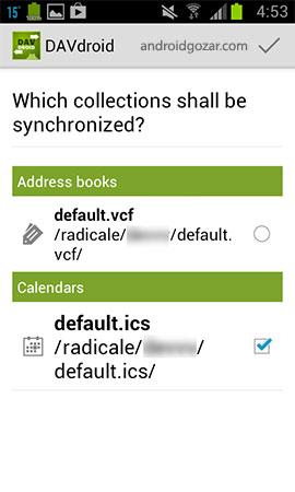 دانلود DAVx⁵ (DAVdroid) 3.3.10 مدیریت مخاطبین، تقویم و کارها اندروید