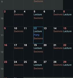 Day by Day Organizer 2.9.0 دانلود نرم افزار مدیریت زمان