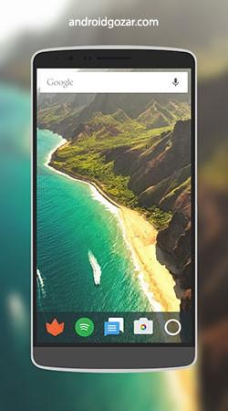 Screener 1.2.3 دانلود نرم افزار قرار دادن اسکرین شات در قاب موبایل