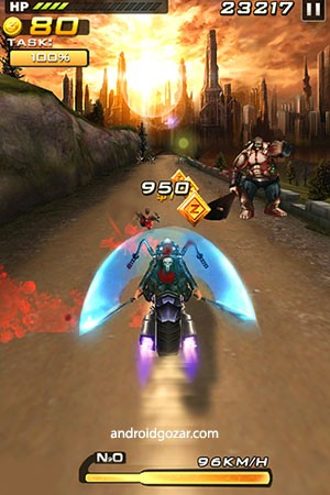Death Moto 2 1.1.9 دانلود بازی موبایل موتور مرگ 2 اندروید + مود
