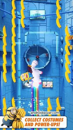 دانلود Minion Rush: Despicable Me Official Game 7.4.1m بازی مینیون راش اندروید + مود